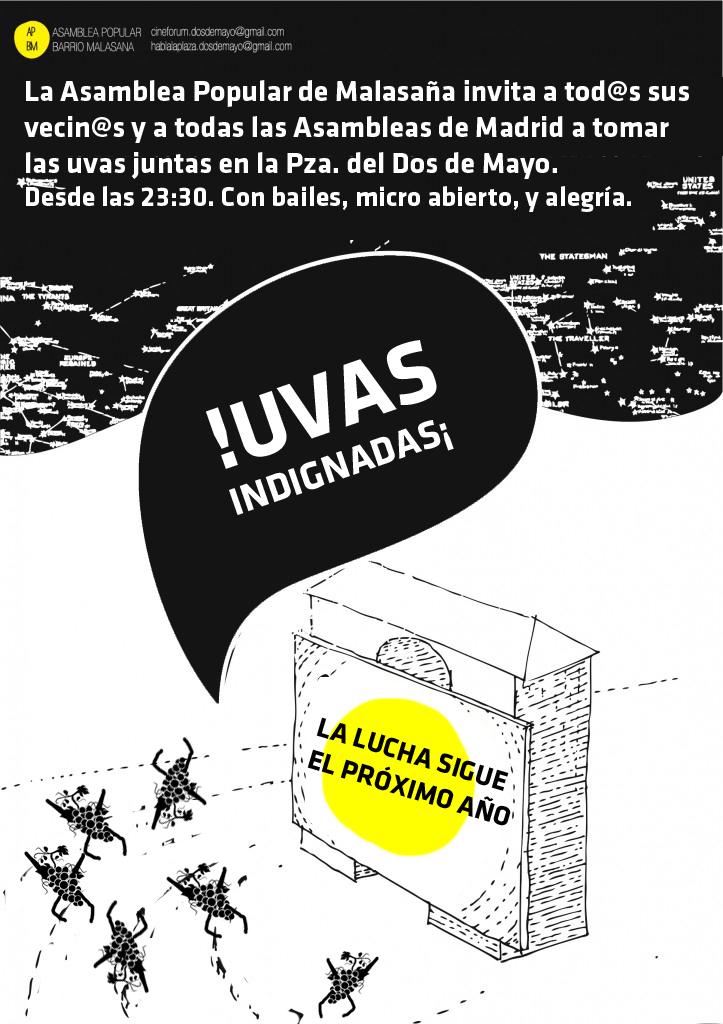 UVAS INDIGNADAS