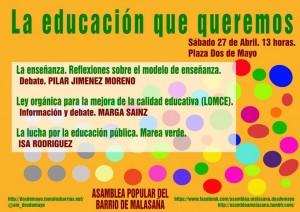 tematica educacion