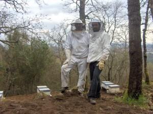 traje apicultura